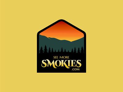 seemoresmokies.com logo affinity designer affinity vector activities outdoors shopping smoky mountains hiking pigeonforge knoxville gatlinburg tennessee smokymountains smokies