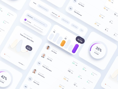 Insurance Dashboard and Figma Design System design system figma web application insurance dashboard
