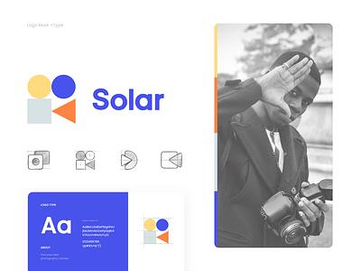 Logo & Branding - Solar vector procreate logo illustration creative branding flat icon design