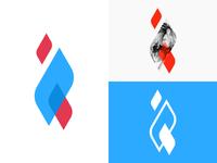 B2B logomark