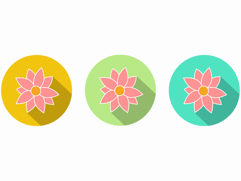 Flower Logo blossoms rose logo flowers illustration beauty icon ui pastel colors branding graphic  design graphic art design illustration cartoon flat design flower logo flower