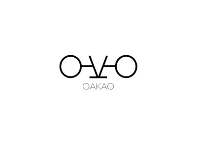 Oakao Fashion Brand Logo brand minimal art typography ui fashionbrand fashion art fashion branding logo graphic  design graphic art design illustration icon flat design