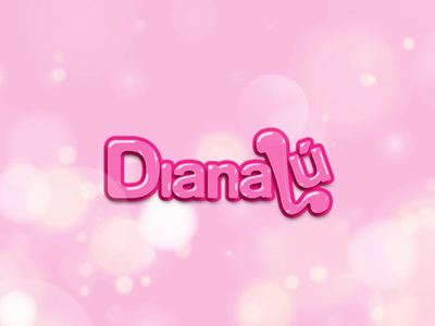 DianaLú logo animation graphic design bokeh animation bokeh pink diana lescure diana lescure dianaludesign dianalu logo animation logo motion graphics motiongraphics