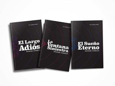 Novelas Negras de Raymond Chandler book book cover design raymond chandler artwork book cover