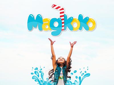 Magikoko Branding illustration logo advertising