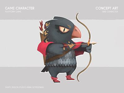 Game Concept Art digital art concept art animals bird character texture illustration game design graphic digital conceptart