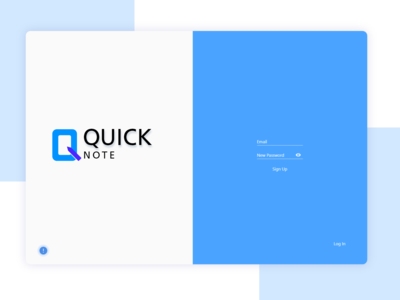 Quick Note | Logo & Web Design
