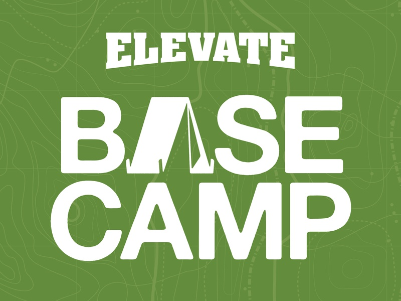 Elevate Base Camp Concept 1 logo pet packaging dog food dog