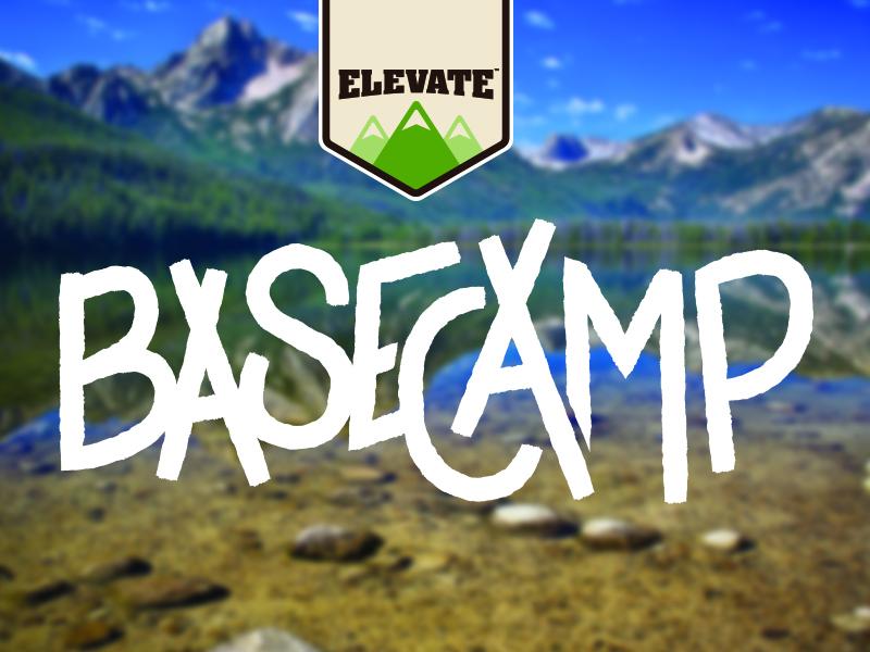 Elevate Base Camp Concept 2 basecamp elevate design logo dog food dog