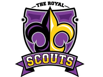 The Royal Scouts sportlogos sportdesign royalscouts sportteam zajacdesign logodesign logo graphicdesign dailylogochallenge brandidentity