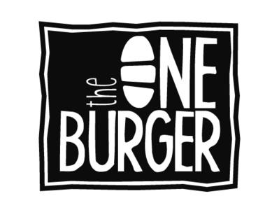 The One Burger restaurant design burgers restaurant burger restaurant zajacdesign logodesign logo graphicdesign dailylogochallenge brandidentity