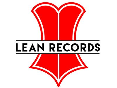 Lean Records record label vinyl corset design zajacdesign logodesign logo graphicdesign dailylogochallenge brandidentity