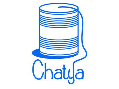 Chatya messaging app chatya zajacdesign logodesign logo graphicdesign dailylogochallenge brandidentity
