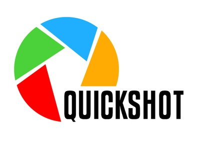 Quickshot camera app camera design zajacdesign logodesign logo graphicdesign dailylogochallenge brandidentity