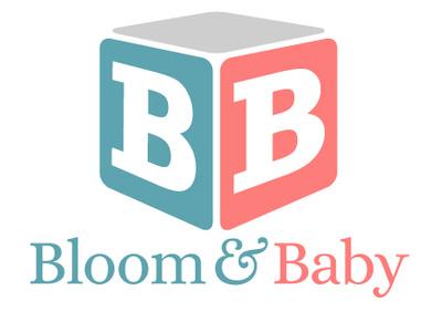 Bloom & Baby babyclothing babyapparel design zajacdesign logodesign logo graphicdesign dailylogochallenge brandidentity