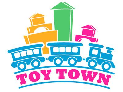 Toy Town toy store design zajacdesign logodesign logo graphicdesign dailylogochallenge brandidentity