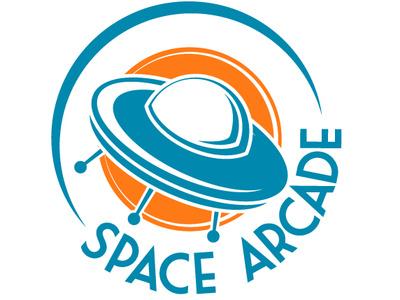 Space Arcade space arcade videoarcade spacearcade zajacdesign logodesign logo graphicdesign dailylogochallenge brandidentity