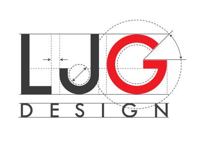 L J G design identity branding identity design blueprint zajacdesign logodesign logo graphicdesign brandidentity