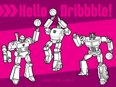Dribbble Debut Chris Philpot transformers robots humor technical illustration line art illustration how-to editorial illustration vector