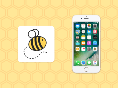 Bee App Icon - Daily UI 005