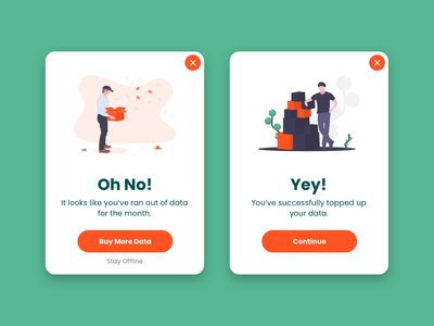 Daily UI Challenge #011 - Flash Message