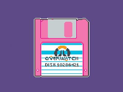 Never Ending pcgames retrogames onlinegames overwatch floppydisk pixelart