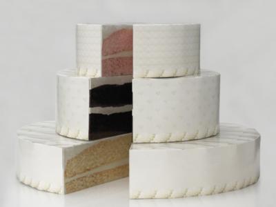 Wedding Cake Box Display