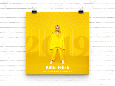 Billie Eilish Concert Poster