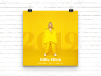 Billie Eilish Concert Poster