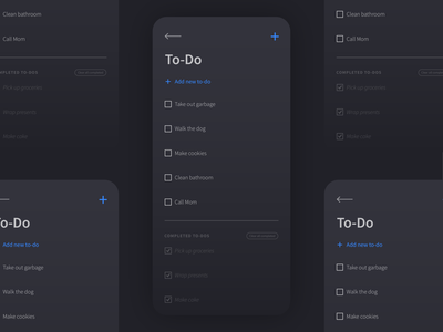Daily UI 042: To-Do List design ux ui mobile app agenda list to-do 042 dailyui