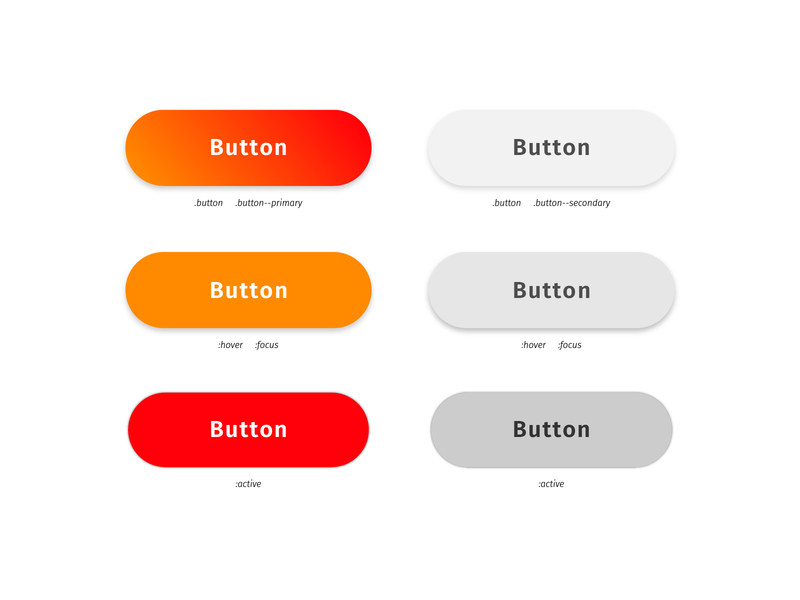 Daily UI 083: Button gradient design ux ui state states button 083 dailyui