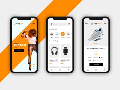 E-Commerce App UI Design