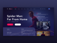 Filmoon Movie Website Design