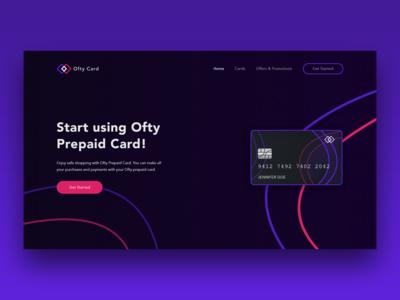Ofty Prepaid Card