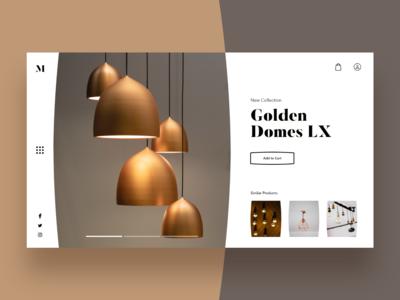 E-commerce Platform Landing page