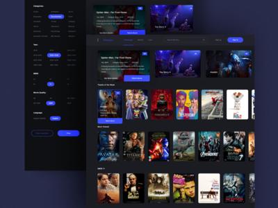 Filmoon UI Design