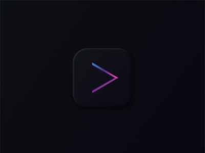 Music player app icon #dailyui