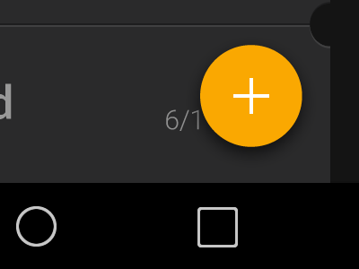 SMS Tickets to Material Design material design android tickets