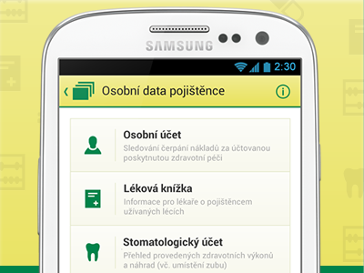 Karta Zdraví RBP 03 android app