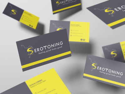 Serotoning Fitness | Business Card