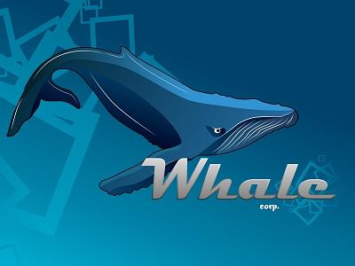 Fl2xuyqwbie blue whale ai logo animals