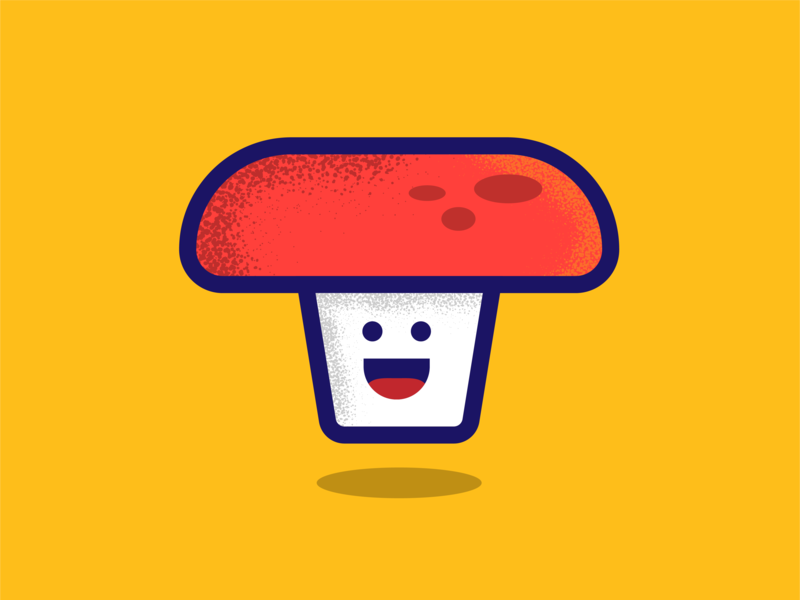 'Shroom shroom happy mushroom adobe illustrator illustrator graphic illustration graphite design vector ai
