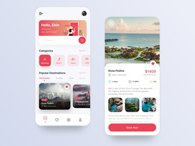 Travel Agency Concept vacation app mobile ui trips trip travelling travel agency training travel app traveling travel hotels hotel booking hotel booking design uiux ui design ui