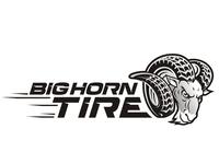 Big Horn Tire Illustrative Logo