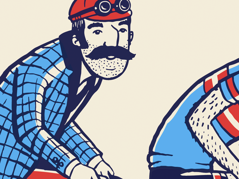 ARTCRANK Breckenridge Sneak Peek colorado breckenridge screen printing illustration poster artcrank