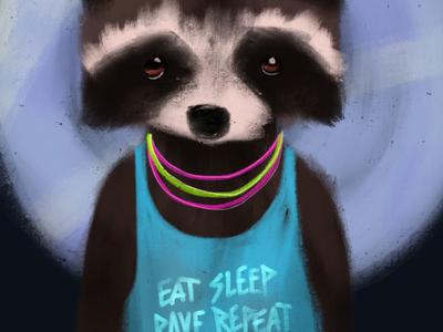 Rave Raccoon