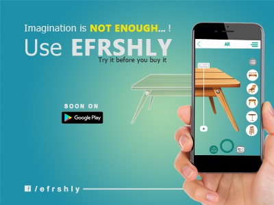 EFRSHLY - AR-Based Mobile App