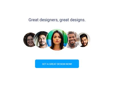 Great designers, great designs.