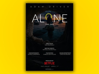 ALONE - FILM POSTER