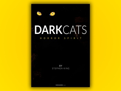 DARK CATS NOVEL COVER